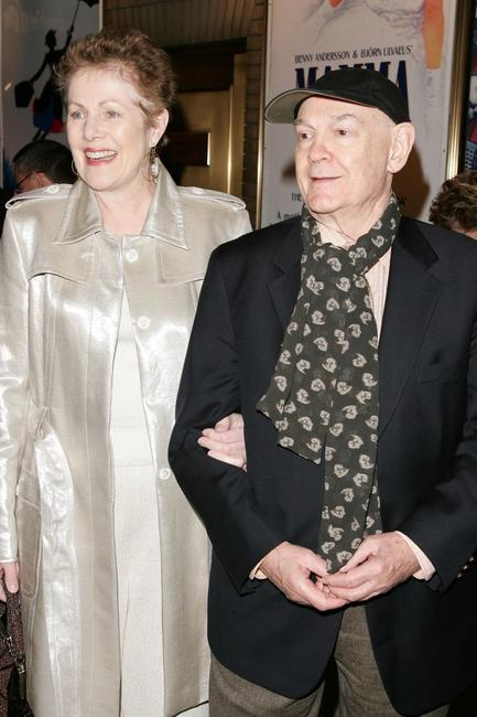 Lynn Redgrave and Joseph Hardy at the opening night of
