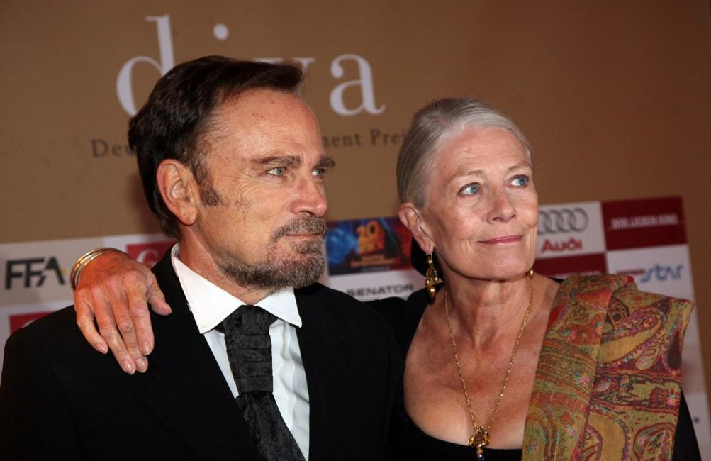 Vanessa Redgrave and Franco Nero at the Diva Awards at Deutsches Theater.