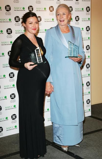 Kelly Macdonald and Vanessa Redgrave at the Awards Of The London Film Critics' Circle.
