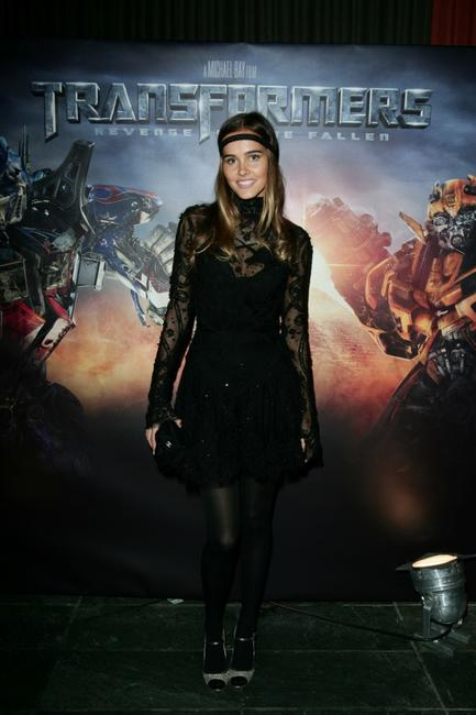 Isabel Lucasa at the Sydney screening of