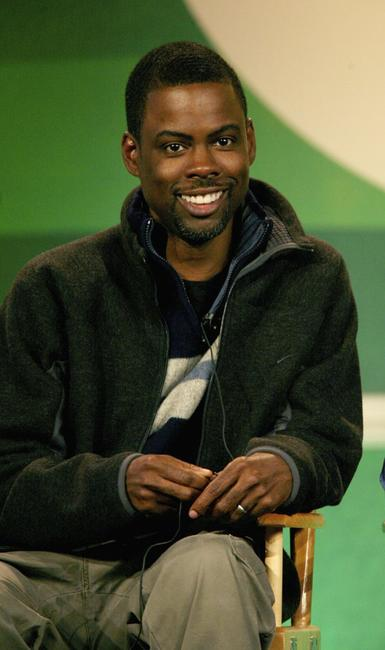Chris Rock at the 2007 Winter Television Critics Association Press Tour for The CW.