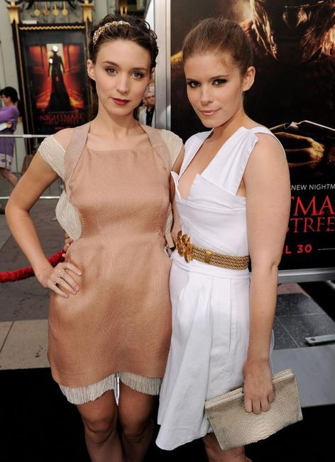Rooney Mara and Kate Mara at the California premiere of