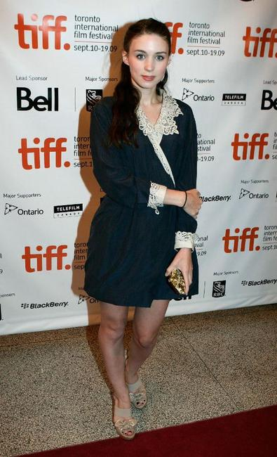 Rooney Mara at the screening of