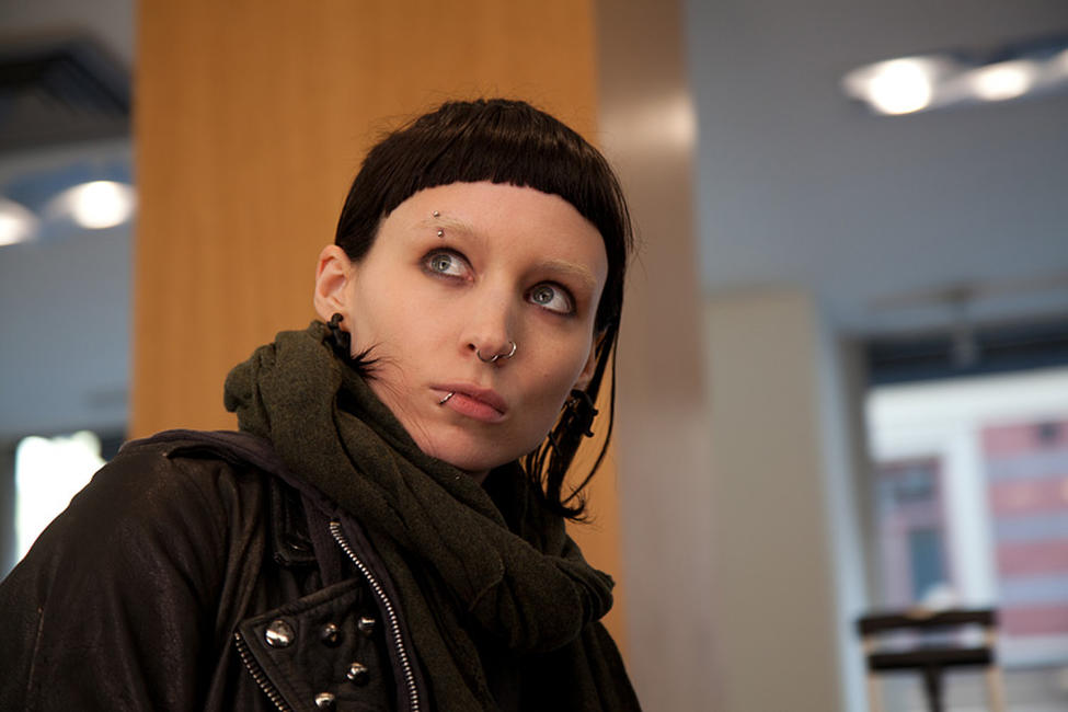 Rooney Mara as Lisbeth Salander in