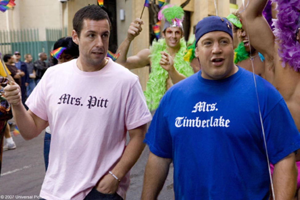Adam Sandler and Kevin James in