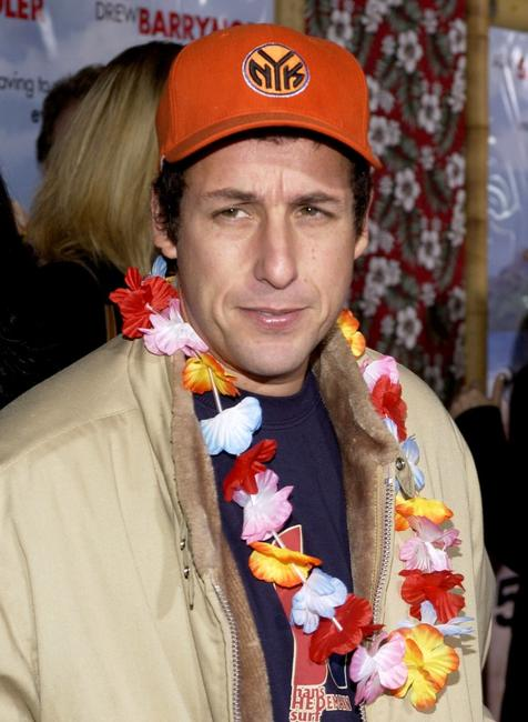 Adam Sandler at the premiere of