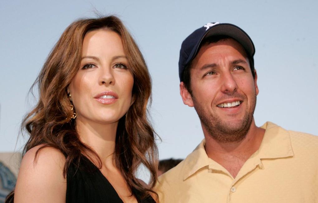 Adam Sandler and Kate Beckinsale at the UK Premiere of