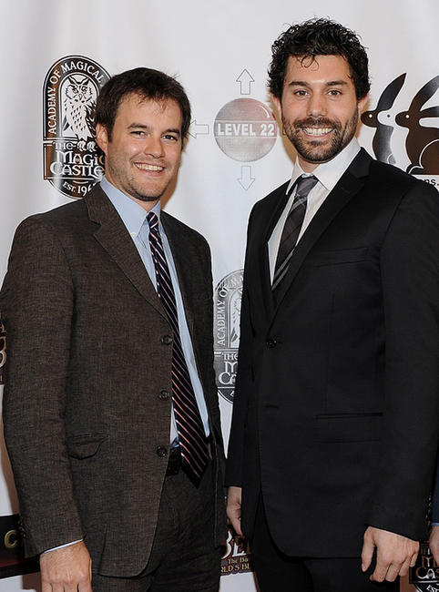 Director J. Clay Tweel and Micah Sloat at the California premiere of