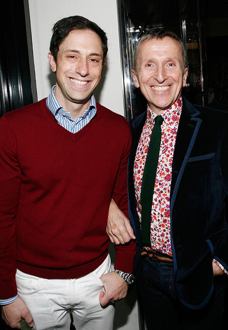 Jonathan Adler and Simon Doonan at the Barneys New York unveiling of the 2009 Holiday Window Celebrating 35 Years of SNL.