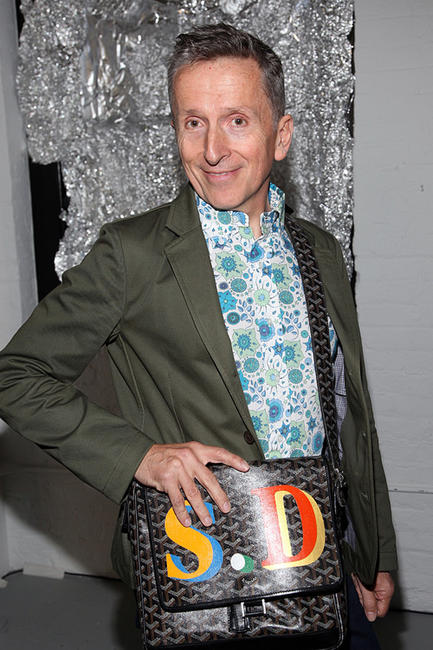 Simon Doonan at the Rodarte Spring 2011 Fashion show during the Mercedes-Benz Fashion Week.