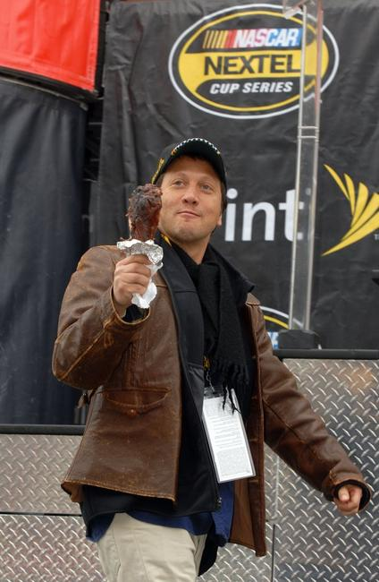 Rob Schneider at the NASCAR Nextel Cup Series Golden Corral 500.