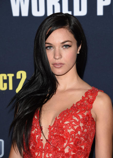 Alexis Knapp at the California world premiere of