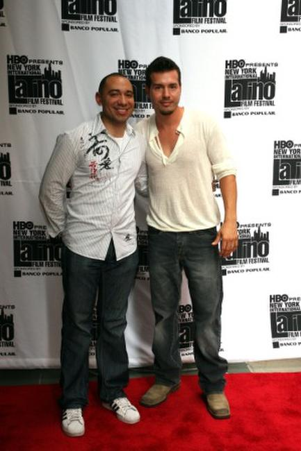 Calixto Chinchilla and Jon Seda at the New York International Latino Film Festival screening of
