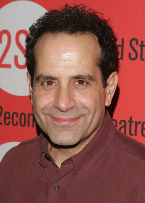 Tony Shalhoub at the after party for the Second Stage Theatre opening night of