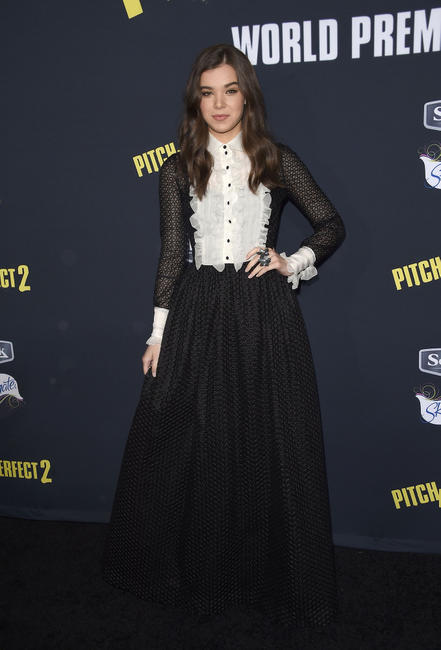 Hailee Steinfeld at the California world premiere of