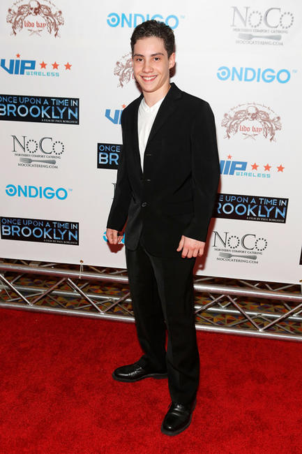 John D'Leo at the New York screening of