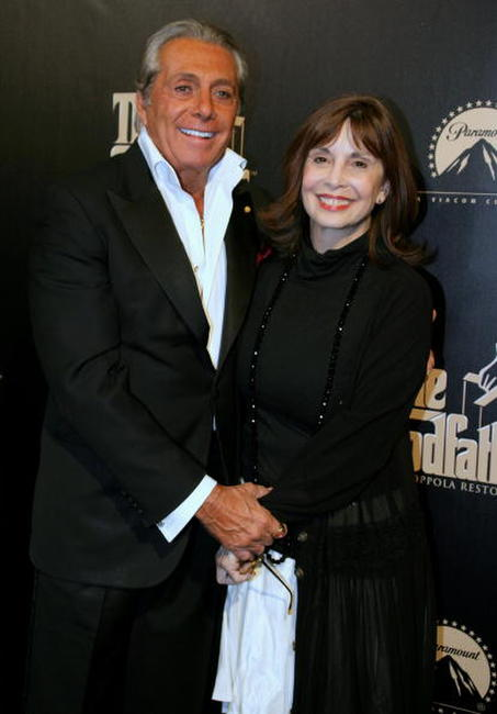 Gianni Russo and Talia Shire at the premiere of