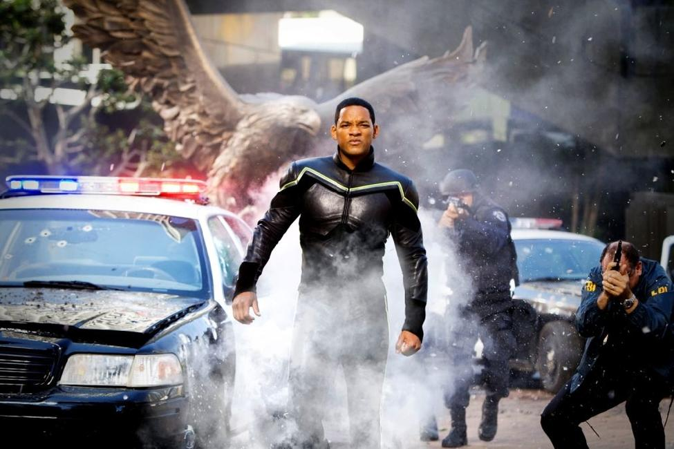 Will Smith as Hancock in