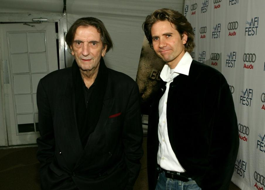 Harry Dean Stanton and Director Jonny Campbell at the north American premiere of
