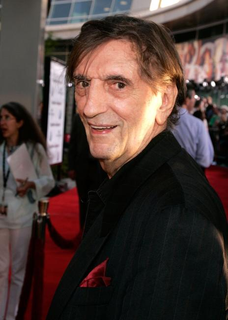Harry Dean Stanton at the premiere of