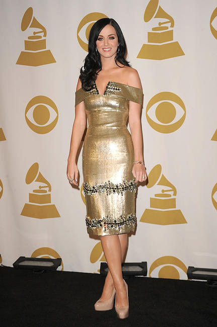 Katy Perry at the GRAMMY Nominations Concert Live in California.