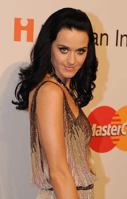 Katy Perry at the Pre-Grammy Gala in Beverly Hills.