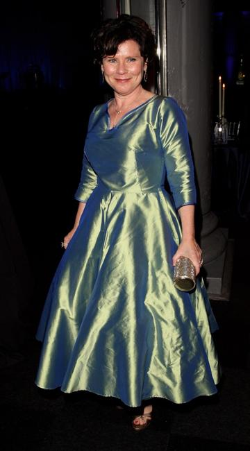Imelda Staunton at the after party following the European premiere of