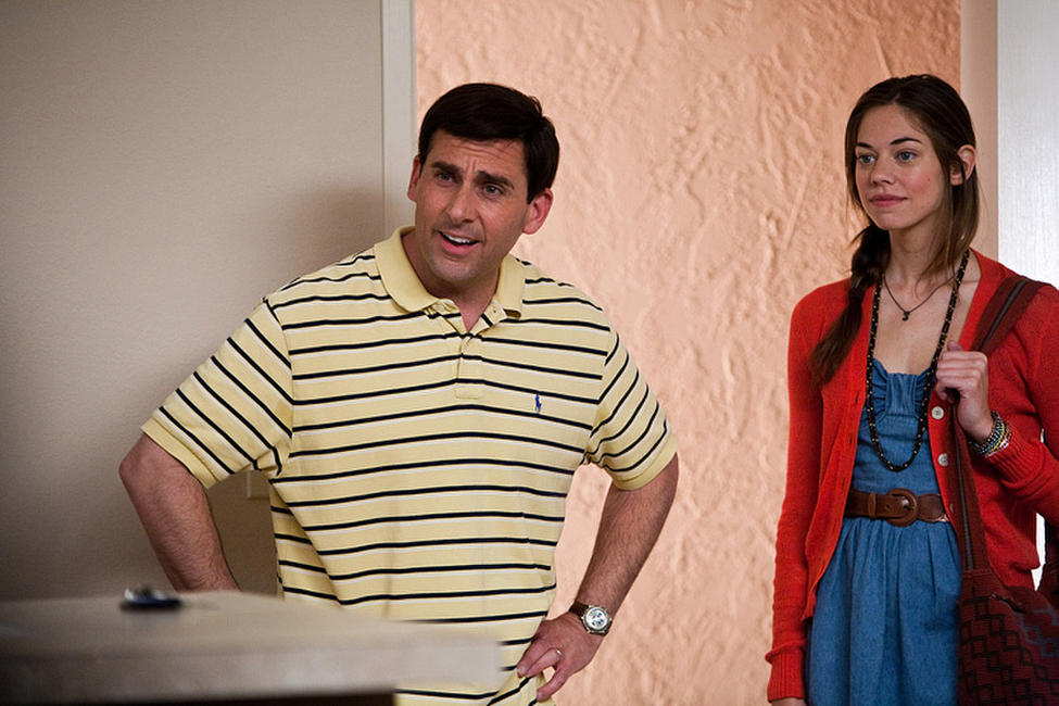 Steve Carell as Cal Weaver and Analeigh Tipton as Jessica in