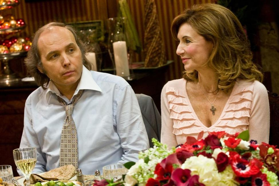 Dwight Yoakam as Pastor Phil and Mary Steenburgen as Marilyn in
