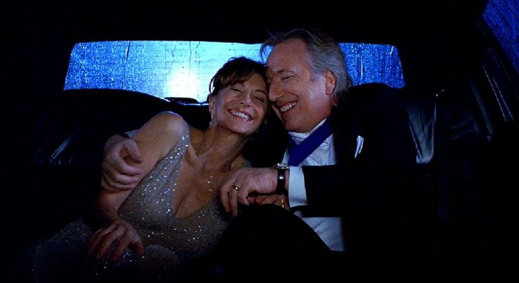 Alan Rickman as Eli Michaelson and Mary Steenburgen as Sarah Michaelson in