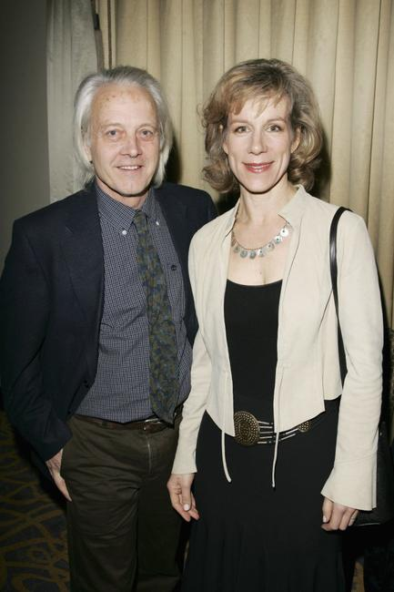 Juliet Stevenson and Hugh Brody at the South Bank Show Awards.