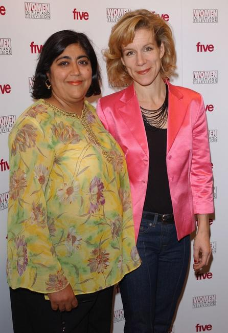 Gurinder Chadha and Juliet Stevenson at the Carlton Women In Film And TV Awards.