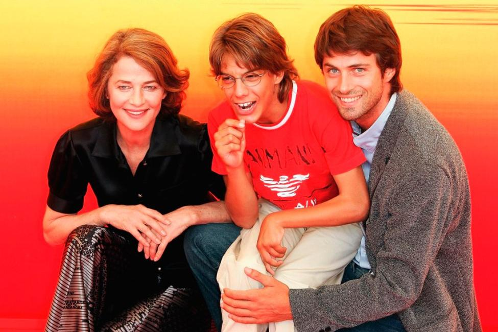 Charlotte Rampling, Andrea Rossi and Kim Rossi Stuart at the photocall of
