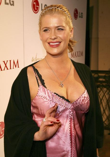 Kristy Swanson at the Maxim Magazine Rock & Roll Poker Tournament.
