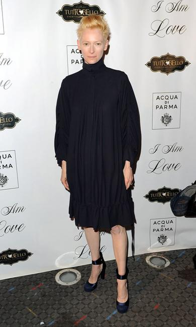 Tilda Swinton at the New York premiere of