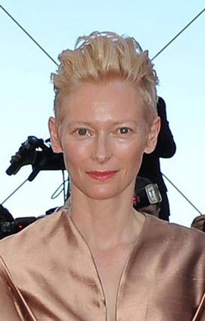 Tilda Swinton at the France premiere of