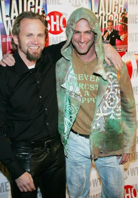 Lee Tergesen and Chris Meloni at the New York opening night of