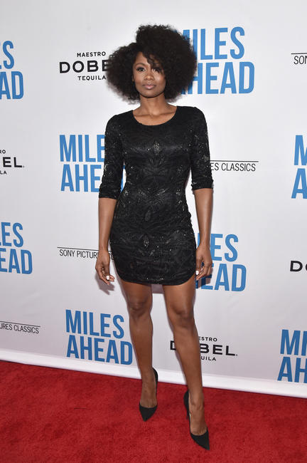 Emayatzy Corinealdi at the California premiere of