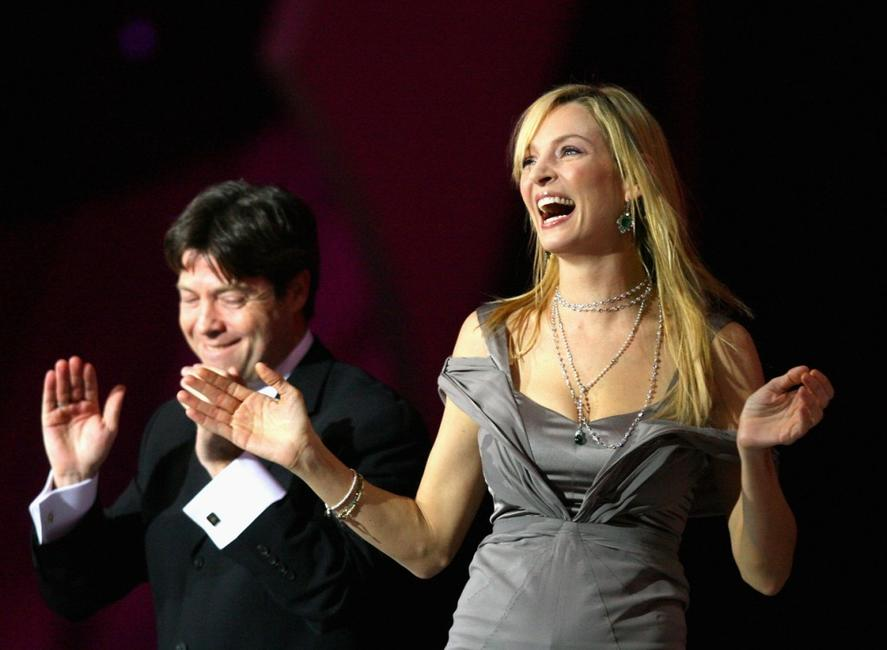 Uma Thurman and Al Gore at the Nobel Peace Prize Concert in Oslo.