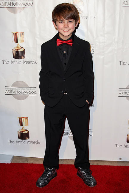 Max Charles at the 40th Annual Annie Awards.