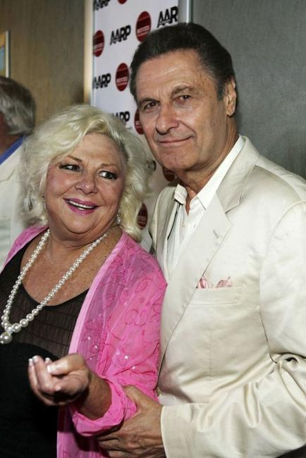 Renee Taylor and Joseph Bologna at the premiere of