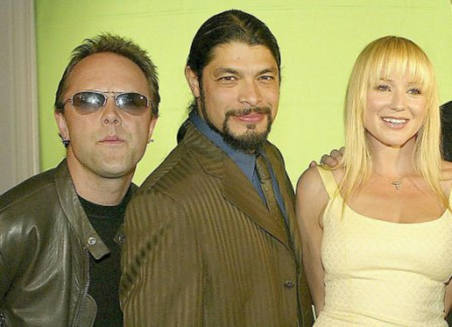 Lars Ulrich, Robert Trujillo and Jewel at the 21st Annual ASCAP Pop Music Awards.