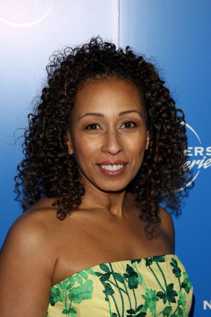 Tamara Tunie at the NBC Universal Experience.