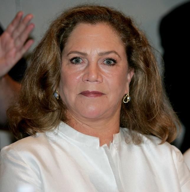 Kathleen Turner at the narration of her film