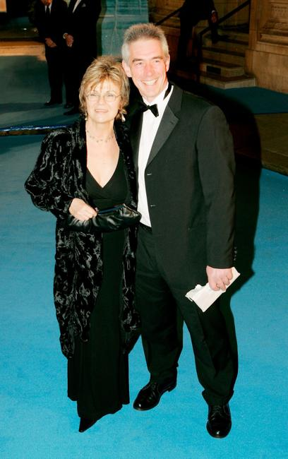 Julie Walters and her husband Grant Roffey at the Royal Film Performance and world premiere of