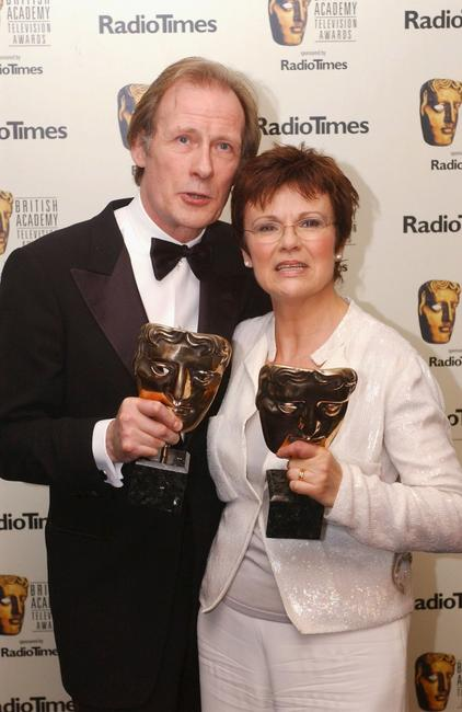 Julie Walters and Bill Nighy at the The British Academy Television Awards.