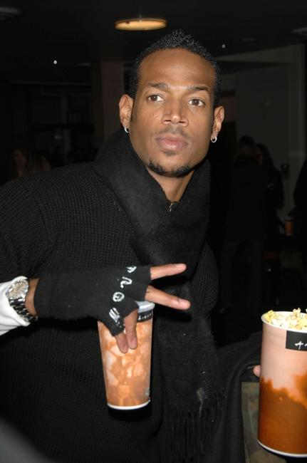 Marlon Wayans at the world premiere of