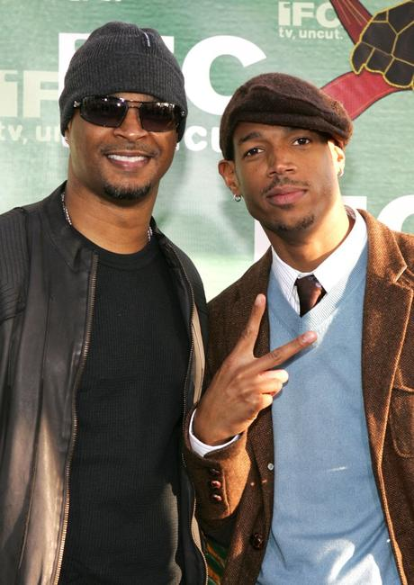 Damon and Marlon Wayans at the IFC's Independent Spirit Awards.