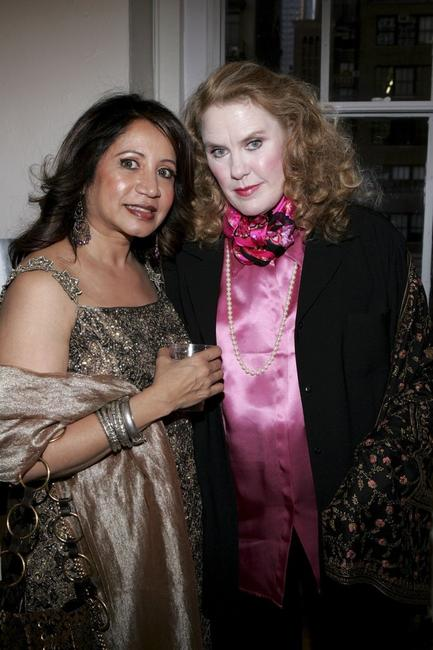 Nanda Anand and Celia Weston at the premiere of