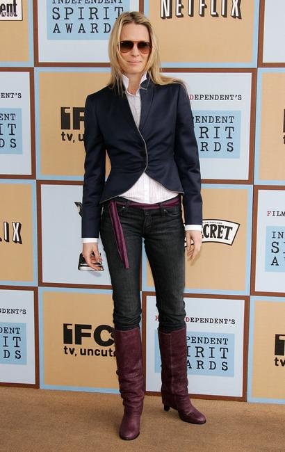 Robin Wright Penn at the Film Independent's 2006 Independent Spirit Awards in Santa Monica.